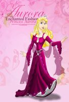 Enchanted Fashion - Aurora by x12Rapunzelx