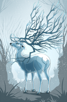 Bare Antlers by Speras