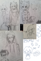 || Sketch Dump || Shota and Faron by kanniki