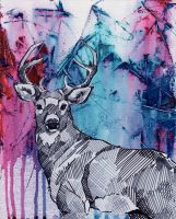 Oh my 'deer' by Marievarp