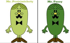 Mr. Fussy 'Persnickety' by Percyfan94