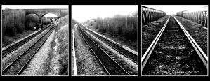 Railway Trio by Nikology