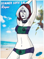#SummerGothGal - Rogue by theEyZmaster