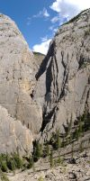 Morro Creek Gorge Panorama by HerrHaller