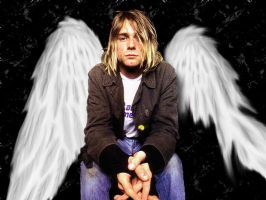 Kurt Cobain - wings by i-trust-ss