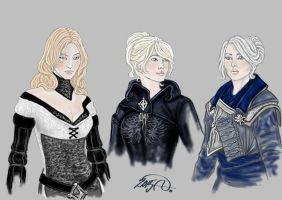 Dragon Age OCs by Yagellonica