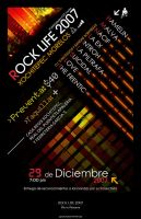 Rock Live 2007 Poster by Davirus