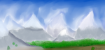 Mountains by CaprySonne