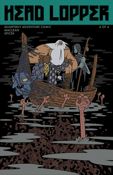 Head Lopper 4 Cover by Andrew-Ross-MacLean