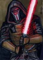 Darth Revan Limited Edition by HalHefnerART