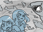 Six and RC: Terror of Sharknado by sixelona