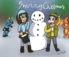 White Christmas by YellowSubWalrus