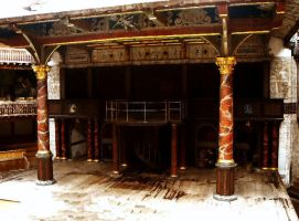 stage globe theater by gostknight