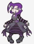 gothic lolitia gaz FLAT COLORS by Prepare-Your-Bladder