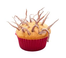 SQUID CUPCAKE 2 by Mjag