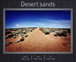 Desert sands by kingmoeha
