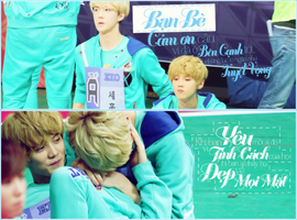 31/7 HunHan Couple Cover Face Request by @Bunny by BunnyLuvU