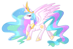 Princess Celestia by Kaji-Tani