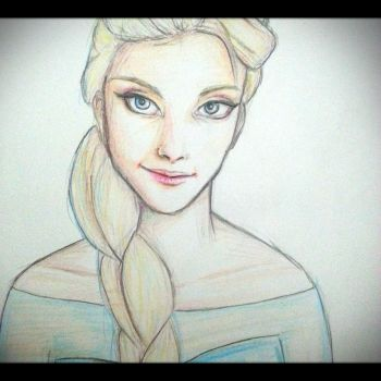 queen Elsa by cute28