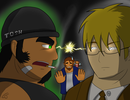 Howard and Tosh by Saruteku
