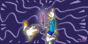 Fionna And Cake! by StrykerFeanix