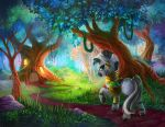 Collab: Zecora's Hut by viwrastupr