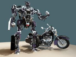 Bike robot concept 16-oct-2007 by Masterclip