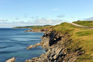 Cape Breton's rugged coast by PaulMcKinnon