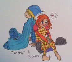 Jester and Jane by Abby-Gale