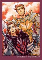 PSC - Alistair and Brosca by aimo