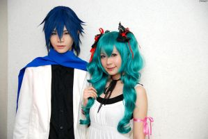 KAITO.Miku - World is mine by Onnies