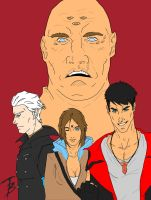 DMC dont fuck with a god base colors WIP by fenrirthomasb
