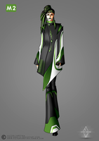 Subway Fashion: Green Line by Neko-Vi