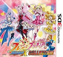 Fresh Precure and Megaman X 3DS by isaacyeap