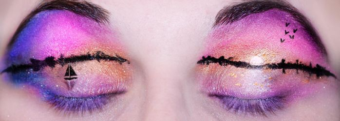 Sunset Eyes by KatieAlves