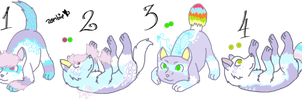Muna x Icey Queen Litter - Closed by KittehzAdopts