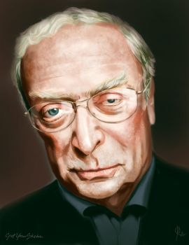Sir Michael Caine by jwohland