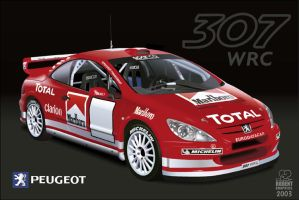 Peugeot 307 WRC by Didda
