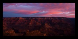 Sunrise at The Grand Canyon by samtheflash82