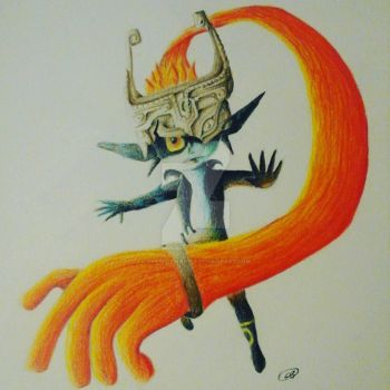 Imp Midna from Twilight Princess by okamiofwar710