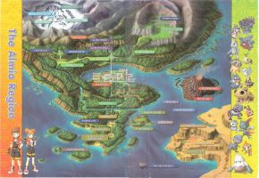 Map of the Almia Region by Linka-Wolf