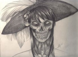 La catrina... by DAATH-unholy-true