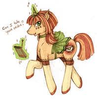 Can I take your order ? - Adopted pony - by tinuleaf