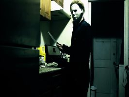 Michael Myers test shot! by slasherman