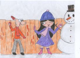 Snow Fight!! by janesmee