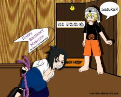 Naruto's Surprise Gift by ToonTwins