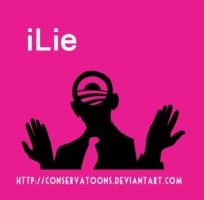 iLie: the Obama Mantra by Conservatoons