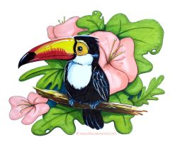 Tuki the Toucan by Stasushka