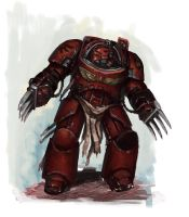 Blood Angels Terminator by MasterAlighieri