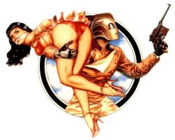 The Rocketeer by detectivesambaphile